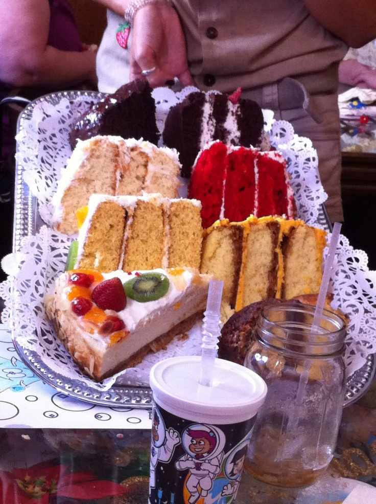Cakes for Dessert (yummy) ~ at The Bubble Room ~ Captiva