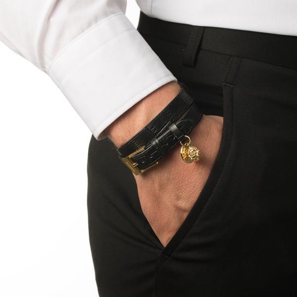 Belt Lion Bracelet - Croc