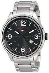 Tommy Hilfiger Men's 1791105 Casual Sport Analog Display Quartz Silver Watch