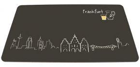 Frühstücksbrettchen - Frankfurt Skyline