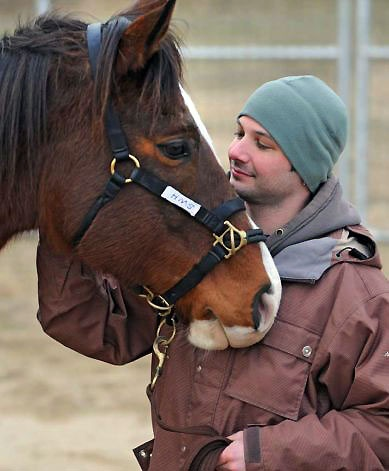 The healing power of wounded warriors and retired racehorses creates a miracle.  See www.saratogawarhorse.com