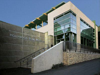 Hollywood Bowl.  free to tour