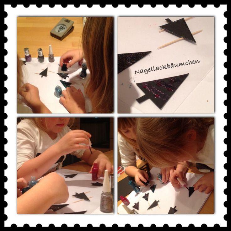 Stamin Up Bäumchen mit Nagellack verschönern :) Spaß für Groß und Klein