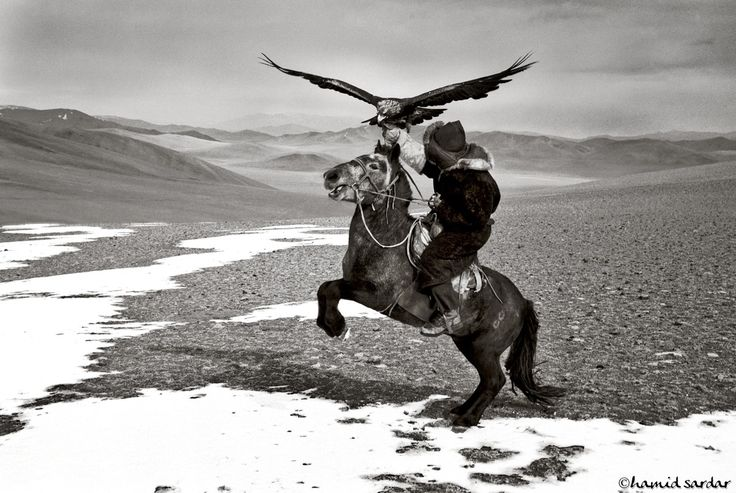 Seeing the opportunity to create a single important collection concentrating on the last country where the majority of the population are still nomads, Sardar-Afkhami set up Wind Horse, a mobile studio ger camp in Mongolia. With his arsenal of cameras and different formats, he mounts yearly expeditions into the Mongolian outback to document her nomadic traditions.