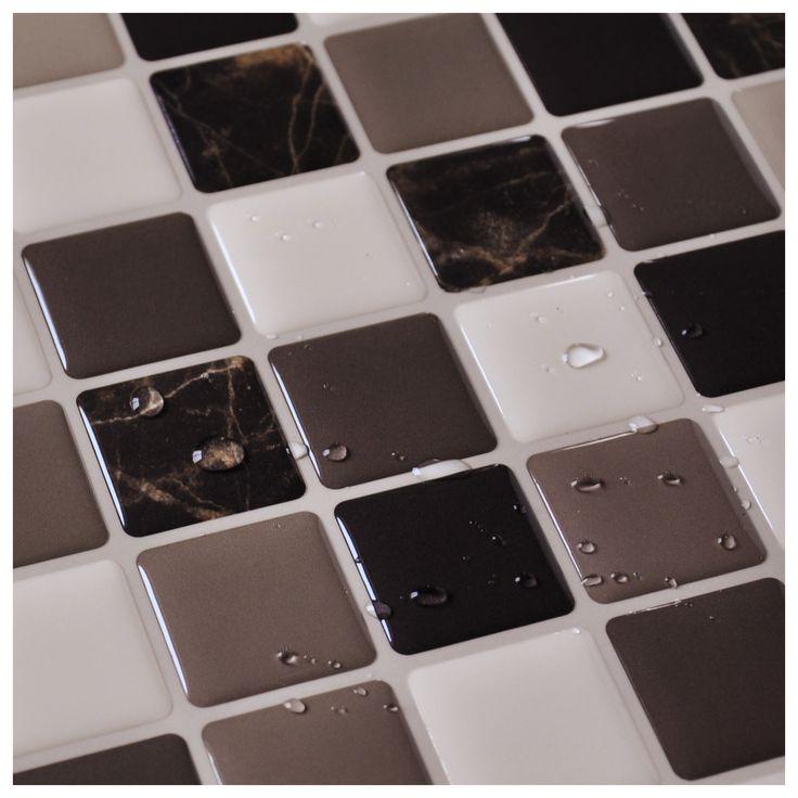 Kitchen Tile Backsplash Cover Up: Best 25+ Vinyl Tile Backsplash Ideas On Pinterest