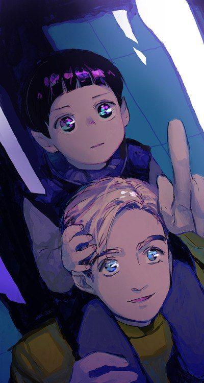 Kirk & kid!Spock