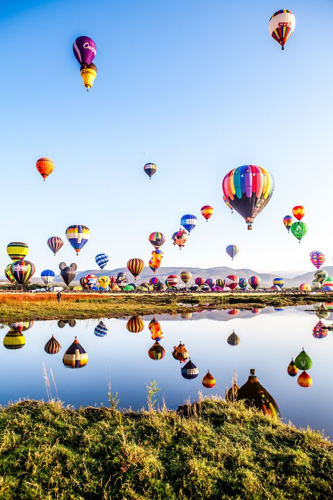 International Balloon Festival in Leon, Guanajuato, Mexico  #HotAirBalloons