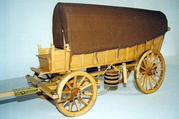Replica Ox Wagon | by HiltonT