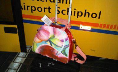Artbag CHERRY... The ideal travelling companion! #fun #colourful #accessory