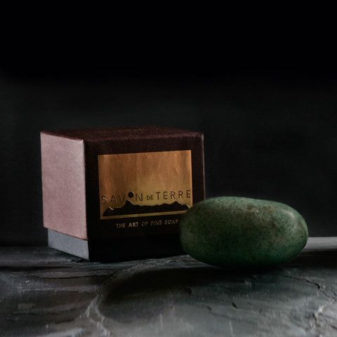 Minty Jade Stone Soap £19  Be uplifted with garden-fresh rosemary and peppermint.