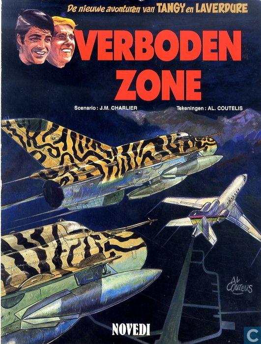 25 - Tangy en Laverdure - Verboden zone