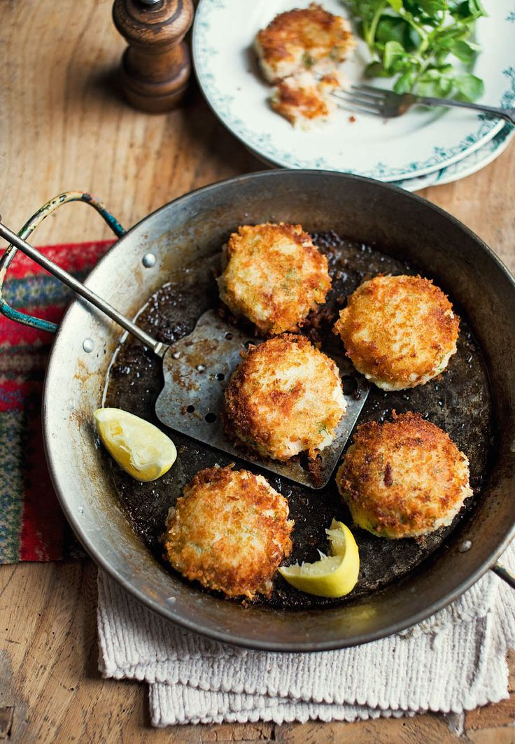 Fishcakes make a simple yet satisfying supper, use hot-smoked salmon with mashed potato to make this quick, comforting meal.