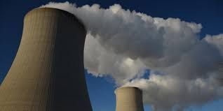 cooling towers ... that's clean vapor