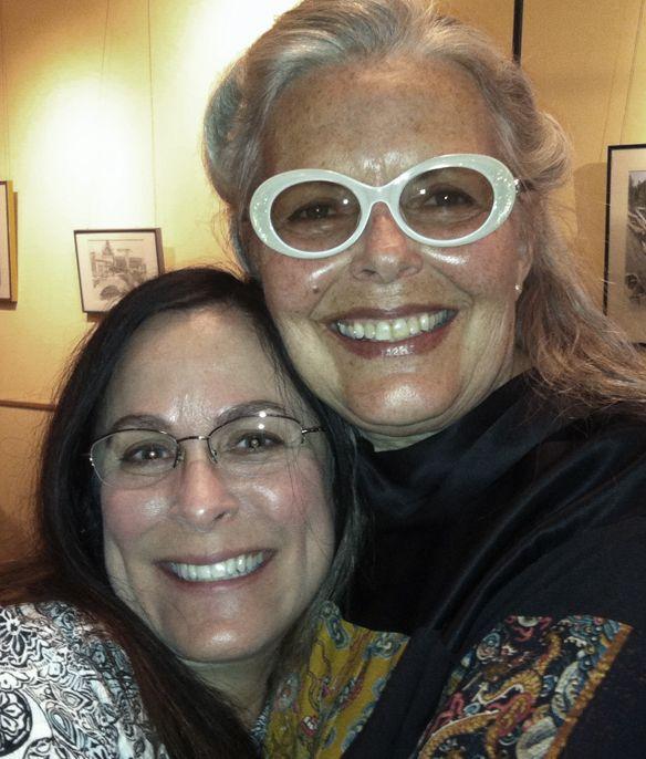 A precious hug from my beloved root teacher Candice O'Denver.