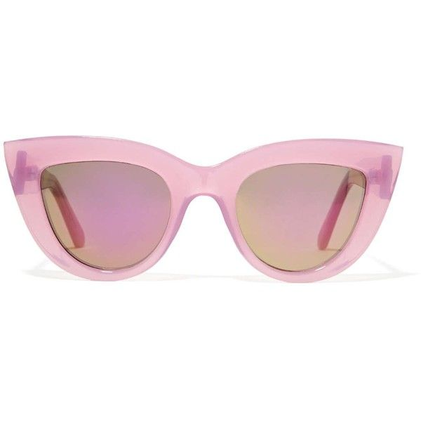Quay Kitti Shades - Lilac found on Polyvore