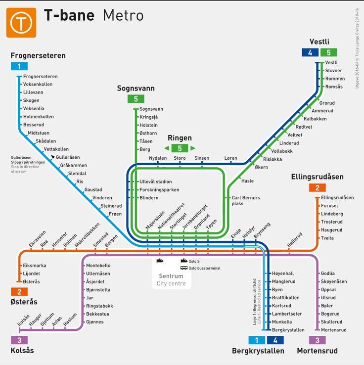 Sinsenboeren: Ser du hva som er nytt på dette T-banekartet?