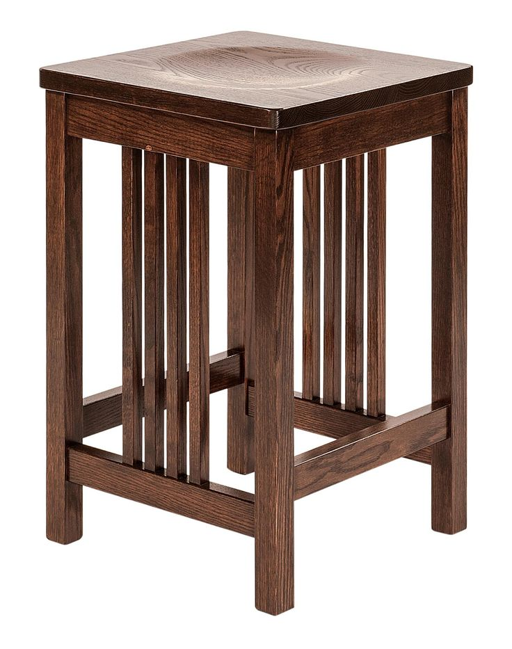 Bring Some Mission Craftsman Style Into Your Home Or Business With Our  Griffin Mission Bar Stools.