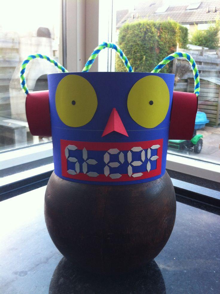 Robot verjaardagshoed