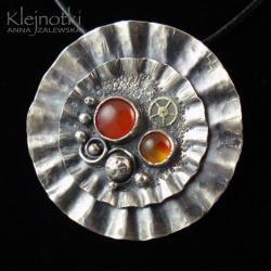 oryginalny,nietypowy,metaloplastyka - Wisiory - Biżuteria