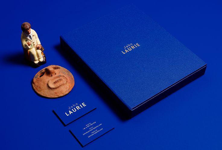 duo d uo | creative studio | John Laurie -That Blue!