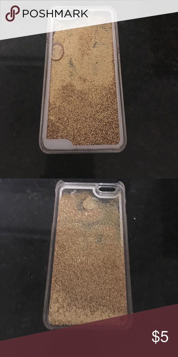 Sparkle iPhone 6 Plus case Sparkle case in good condition. CHEAP! Bundle with other electronic savings for a better deal :) Accessories Phone Cases