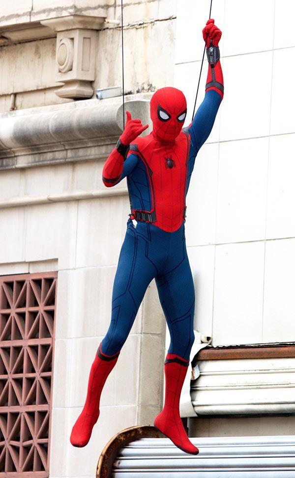 Noticias de cine y series: Spider-Man: Homecoming: Nuevas imágenes del set de rodaje