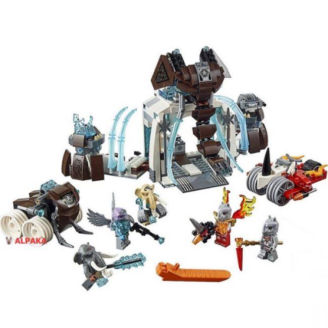 Лего 70226 Ледяная база Мамонтов, купить. Цена Lego Chima 70226 в Альпака, Киев.