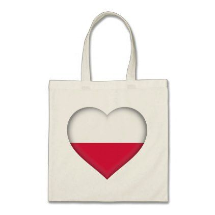 #Poland Flag Tote Bag - #country gifts style diy gift ideas