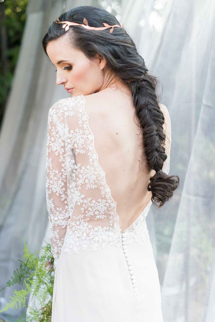 Swoon over jannie baltzer s wild nature bridal headpiece collection - Organic Whimsical Wedding Ideas Jack And Jane