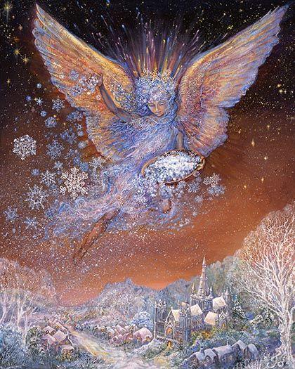 Josephine Wall....Snow Angel