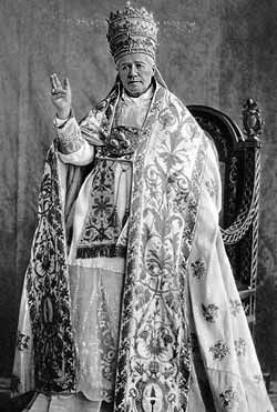 Pope Saint Pius X. (2 June 1835 – 20 August 1914), born Giuseppe Melchiorre Sarto, was the 257th pope of the Catholic Church, serving from 1903 to 1914. He was the first pope since Pope Pius V to be canonized.