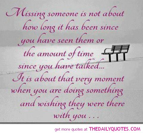 Quotes About Love Of Your Life : the love of your life quotes missing-someone-quote-love-sayings ...