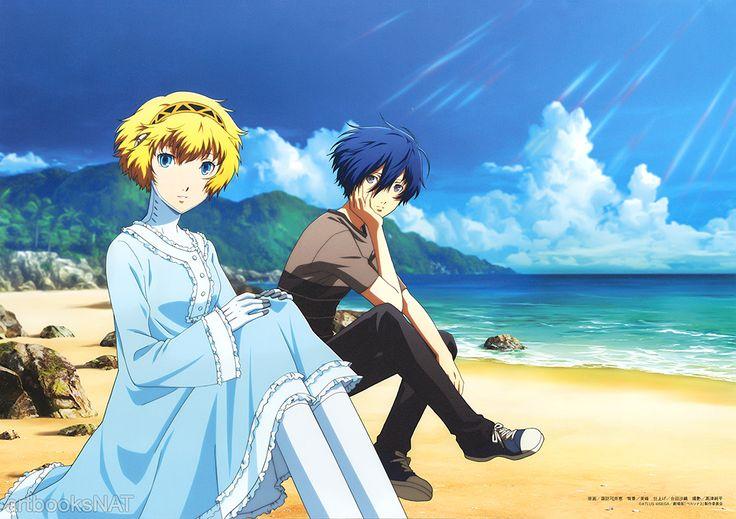 Maaya Sakamoto and Akira Ishida as Aegis and Makoto Yuki in Persona 3 the Movie: #2 Midsummer Knight's Dream.