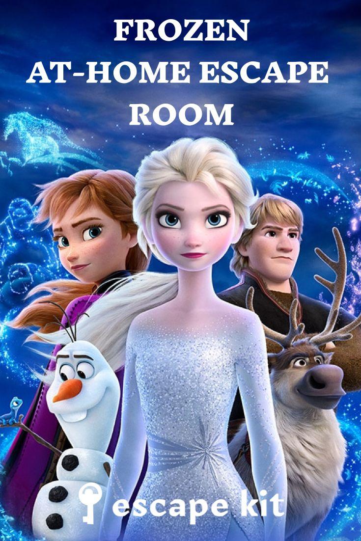 Frozen Escape Room For Kids En 2021 Walt Disney Pictures Parure De Couette Walt Disney Animation