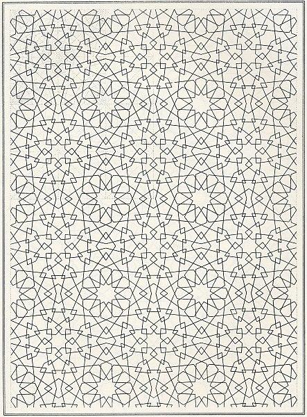 Pattern of Islamic Art