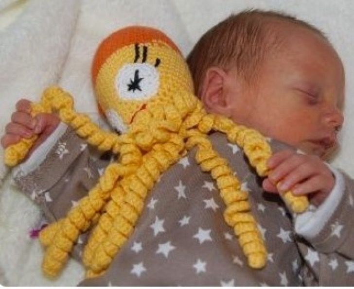 Por qué los hospitales te están pidiendo que hagas pulpos de crochet para los bebés prematuros | Upsocl