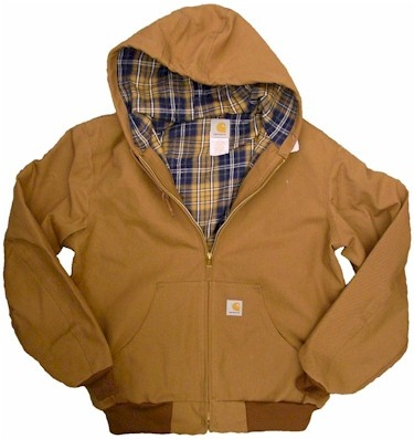 Carhartt Men's Winter Jacket with Flannel Insert