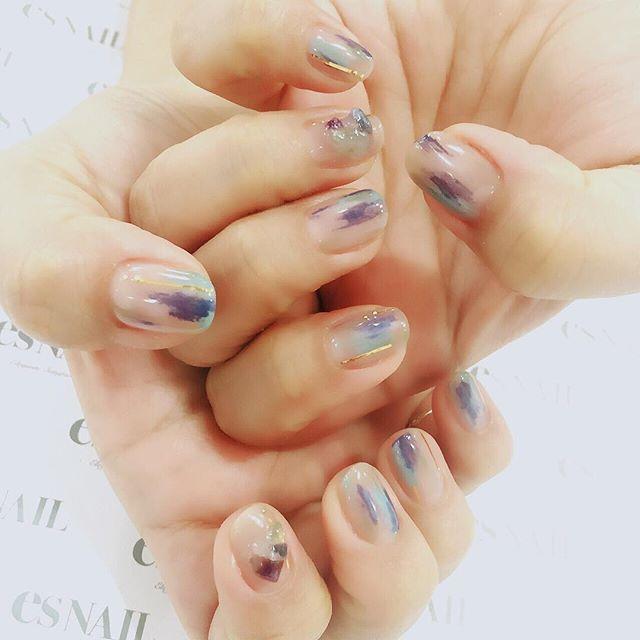 いつものテンションなnail。 前回のキラキラもたまにはいいけど、こーゆーのがやっぱり落ち着くー❤️ #nail#nails#nailart#naildesign#esnail#gelnail#nailgram#nailsalon#esnails#notd#ネイルサロン#ネイル#エスネイル#ジェルネイル#塗りかけネイル#天然石ネイル#네일#美甲@esnail_japan