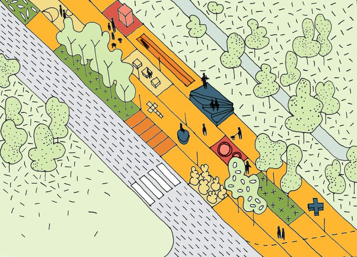 """arch_it piotr zybura """"City Acupuncture"""" Competition Andersa Hill in Wrocław (PL) 1st prize"""