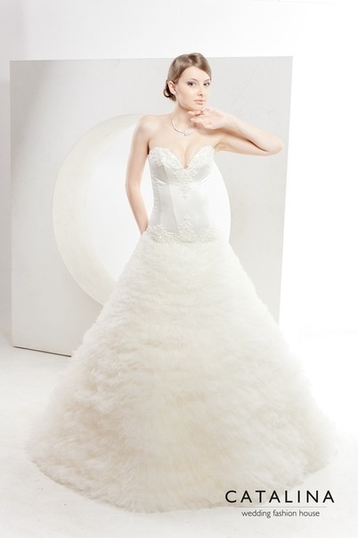 CATALINA wedding fashion house Dress ROSY www.catalina-wedding.ru