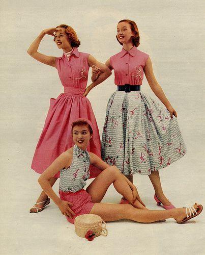 1950s Summer Casuals