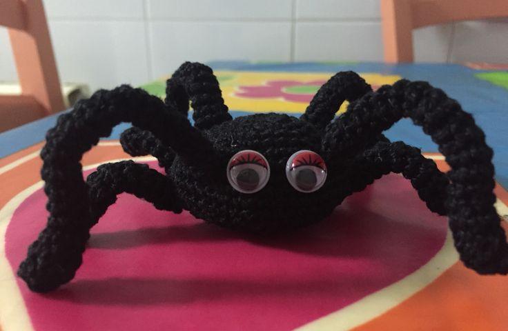 Arañita de crochet