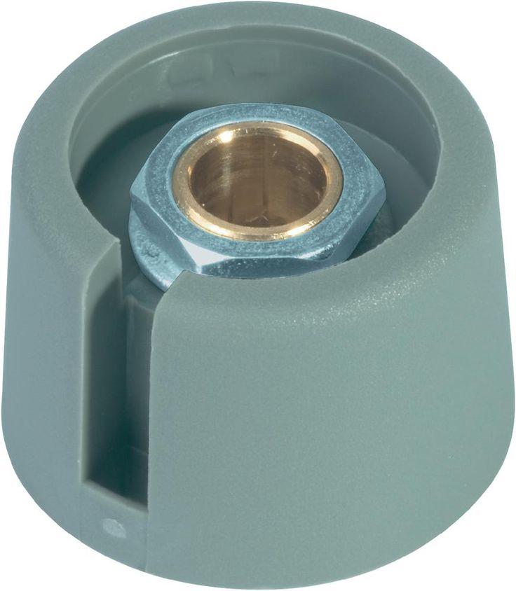 OKW COM-KNOBS Knöpfe A3031068 Grau Achs-Durchmesser 6 mm im Conrad Online Shop