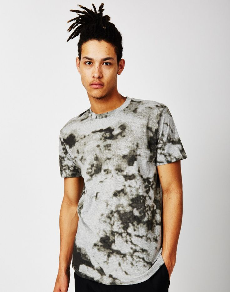 Cheap Monday Standard Clouds T-Shirt Grey   Shop men's clothing at The Idle Man