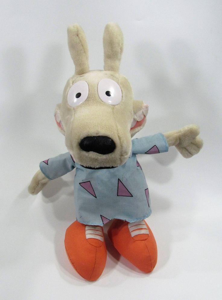 Hold for Jay McMillen 6/17/2017 - Rocko Plush Toy, Stuffed ...