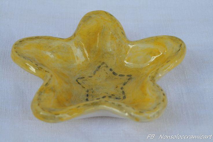 ciotola a forma di stella | handmade ceramic | star bowl