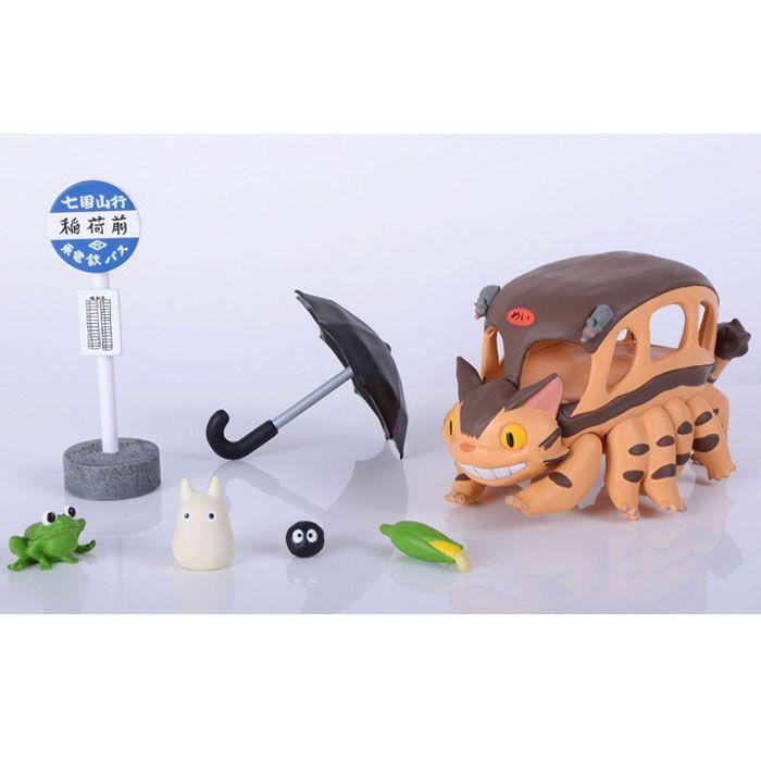 Totoro Kissabussi Figure Set
