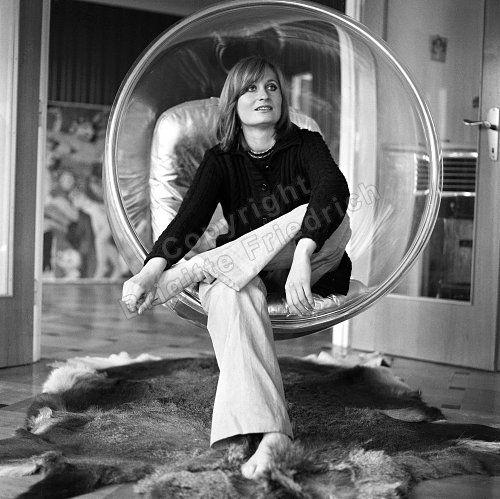 Elfriede Jelinek 1973, Foto: Brigitte Friedrich -