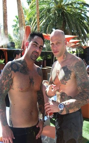 Ami James and Chris Nunez - from Miami Ink. They can put body art on me anytime....WOW!