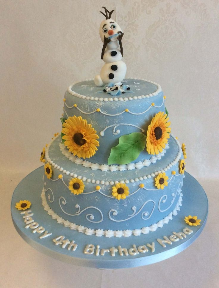 ... Cake on Pinterest  Frozen Fever Party, Frozen Party and Birthday